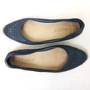 The Flexx | Torri Leather Espadrille Flats
